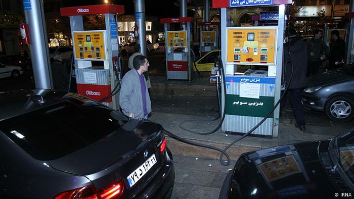Iran Tankstelle (IRNA)