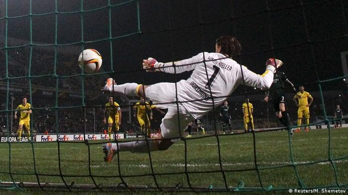 Fußball Europa League Krasnodar vs. BVB Borussia Dortmund