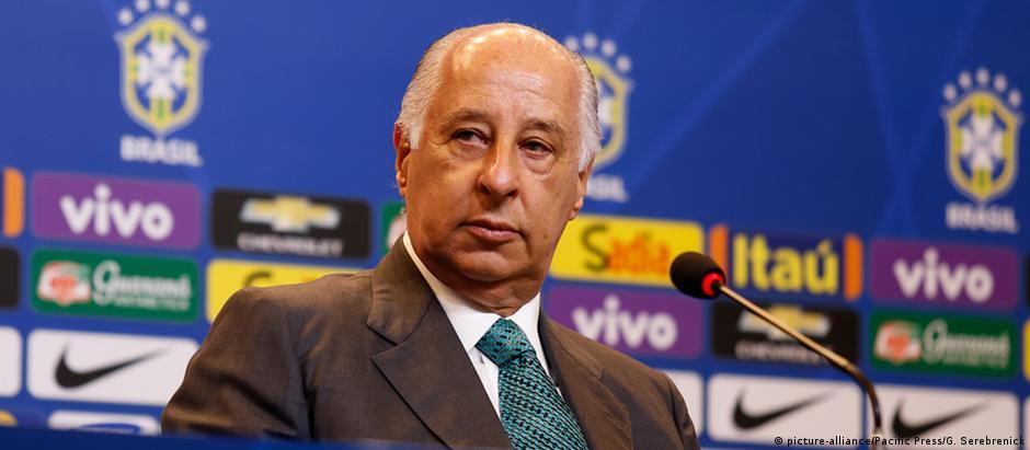 Marco Polo Del Nero é supeito de envolvimento em esquema de corrupção na Fifa.