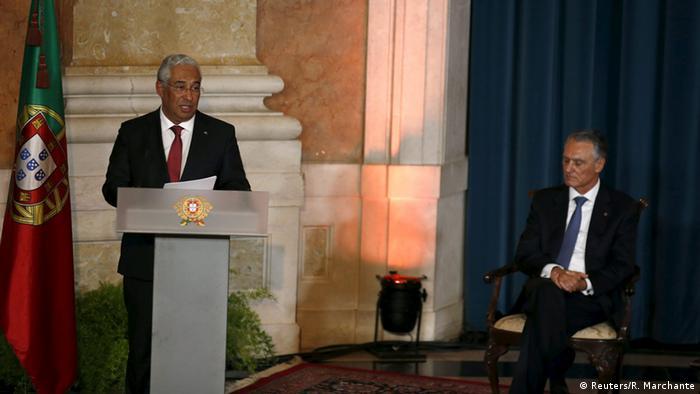 Portugal Premierminister Antonio Costa & Präsident Cavaco Silva (Foto: Reuters)