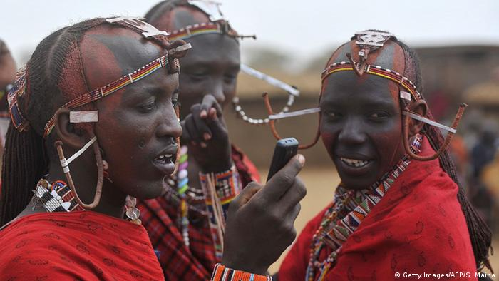 A group of Maasai in traditional dress Getty Images/AFP/S. Maina