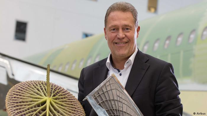 Airbus Pressebild - Entwickler Peter Sander