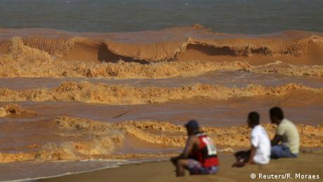 Brasilien Rio Doce Damm Bruch Überflutung Atlantik