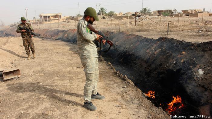 Irak IS Beiji Öl Raffinerie