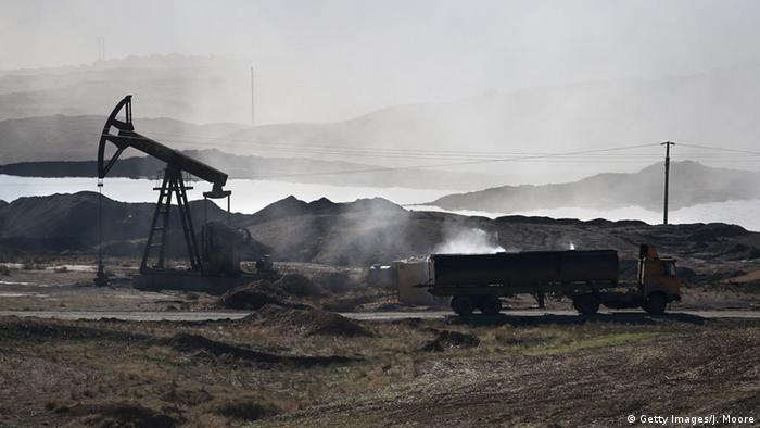 Нефтяное месторождение в Сирии