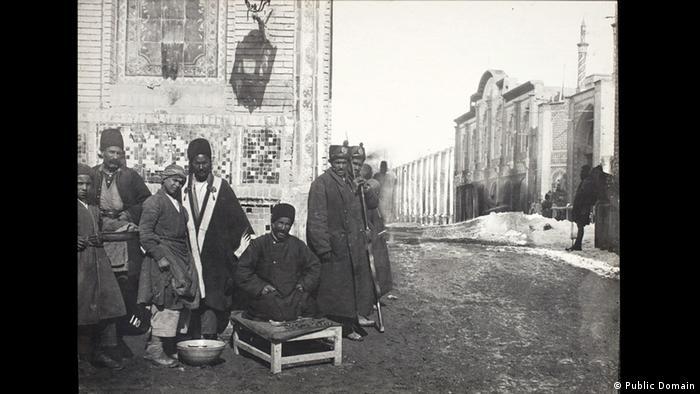 Iran Soldaten in der Kadscharen Dynastie