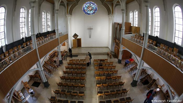 Oberhausen Kirche Flüchtlingsunterkunft