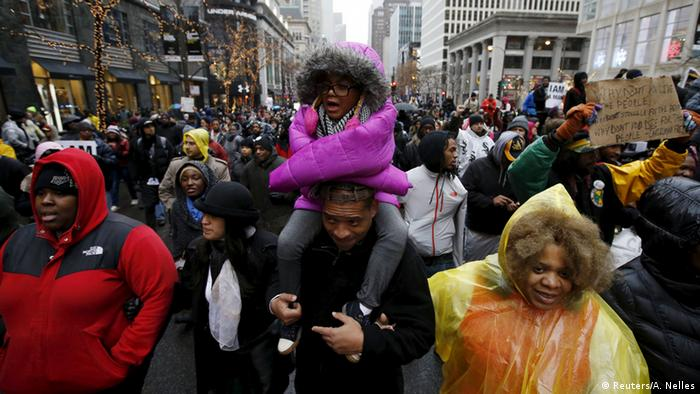 Chicago Proteste gegen Polizeigewalt