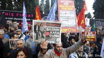 Demonstration Türkei Pressefreiheit