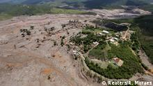 Brasilien Dammbruch Bento Rodigues Schlamm Ruinen