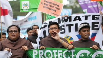 Weltweite Proteste gegen Klimawandel
