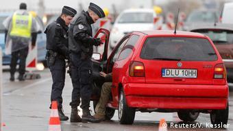 EU Passkontrollen Grenze in Straßburg (Reuters/V. Kessler)