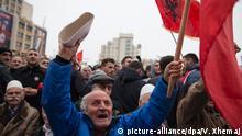 Pristina Proteste gegen Autonomie für serbische Minderheit