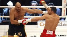 Klitschko versus Fury