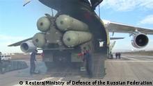 Russland S-400 Raketenabwehr an Grenze zur Türkei