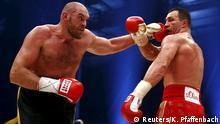 Tyson Fury gegen Wladimir Klitschko Boxen