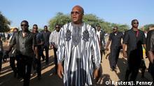 Burkina Faso Wahl in Ouagadougou Präsdentschaftskandidat Roch Marc Kabore