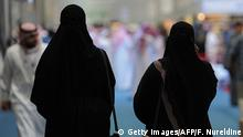 Saudi women browse the annual International Book Exhibition in the capital Riyadh on March 4, 2014. There are 1,700 publishing houses participating in the exhibition this year, which will continue until March 14, including 1,300 from outside of the kingdom. Copyright: Getty Images/AFP/F. Nureldine
