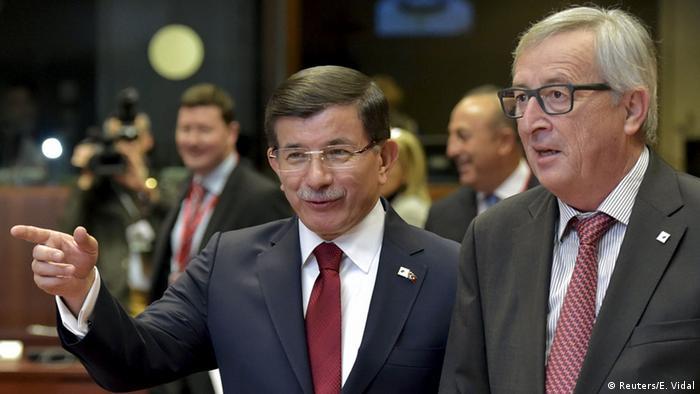 Davutoğlu Jean-Claude Juncker ile de görüşecek