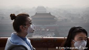 China: smog in Beijing