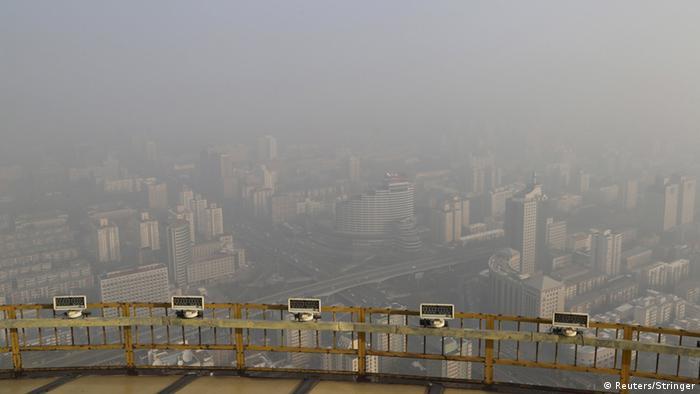 China Smog in Peking (Reuters/Stringer)