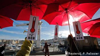 Frankreich Klimagipfel Paris