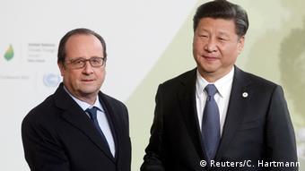 Ο γάλλος πρόεδρος υποδέχεται τον κινέζο ομόλογό του Σι Τζιπίνγκ