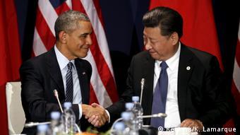 COP21 in Paris: Obama und Xi