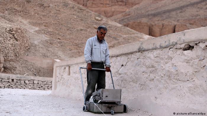 Ägypten Tutanchamun Suche versteckte Kammer Watanabe