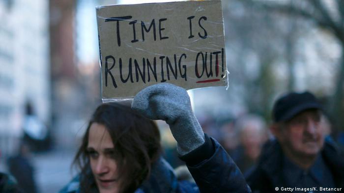 Bildergalerie Klima Proteste USA New York