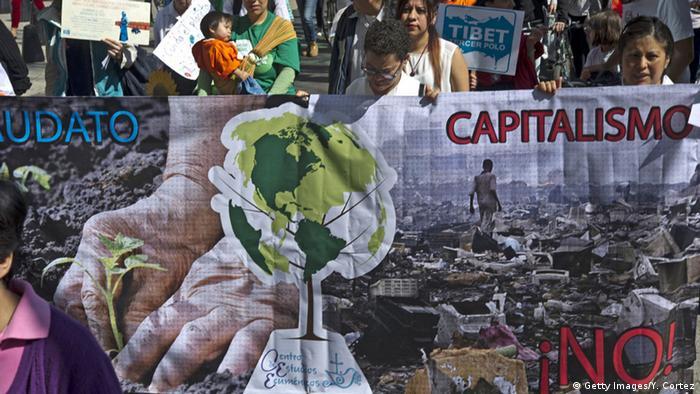 Bildergalerie Klima Proteste Mexiko Mexiko City