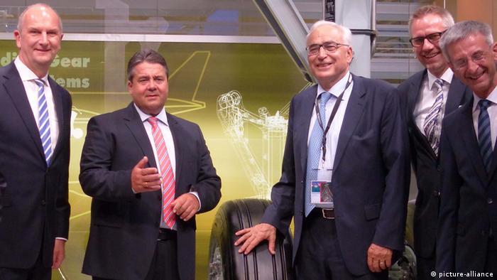 Deutschland Gabriel auf ILA 2014 (picture-alliance)