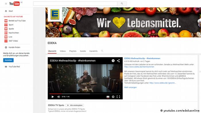 Edeka Christmas 2021 German Supermarket S Christmas Ad Goes Viral Business Economy And Finance News From A German Perspective Dw 30 11 2015
