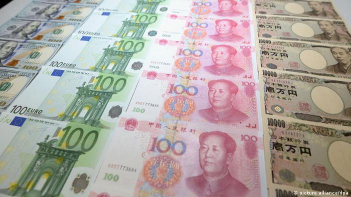 IMF Scheine chinesisches Yuan (picture alliance/dpa)