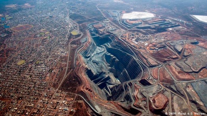 Australien Super Pit goldmine