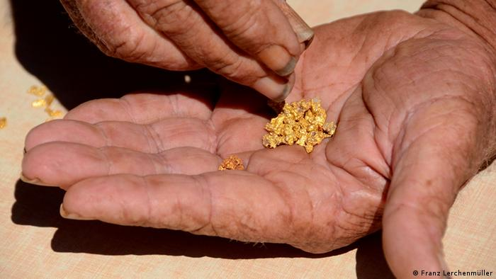 Australien Goldausbeute