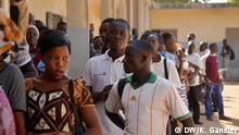 Burkina Faso Präsidentschaftswahlen Wähler