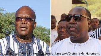 Burkina Faso Präsidentschaftswahlen Kandidaten Kabore und Diabre