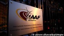 IAAF Logo Monaco Zentrale