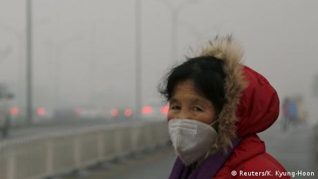 China Smog in Peking