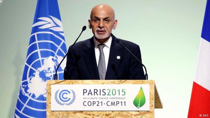 Ashraf Ghani, UN-Paris