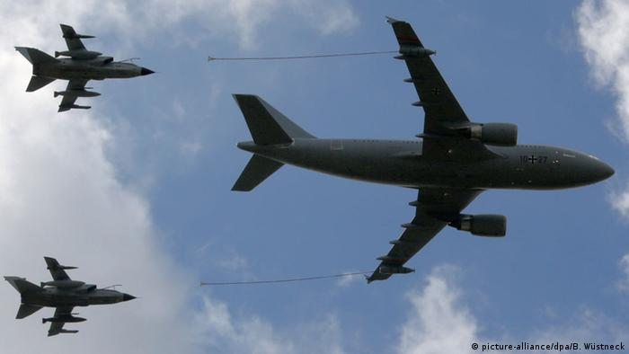 Deutschland Bundeswehr Tankflugzeug Airbus 310 MRTT