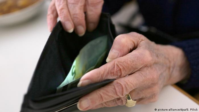 кошелек с банкнотами