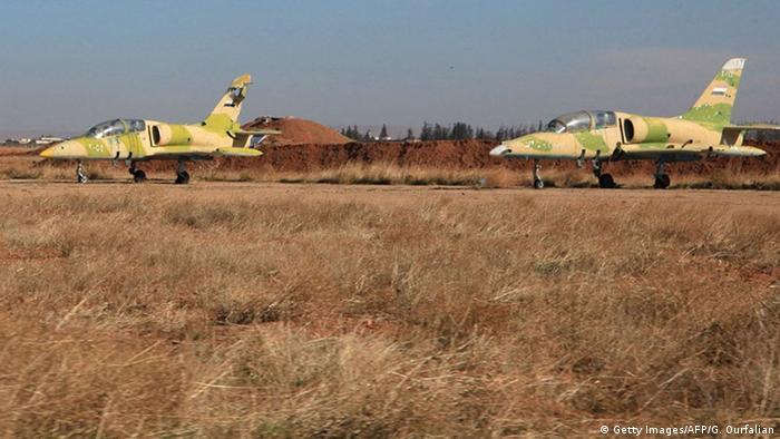 Самолеты сирийской армии