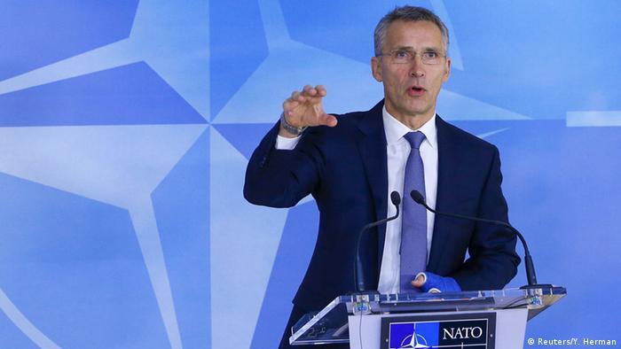 Belgien Nato-Außenministertreffen Jens Stoltenberg