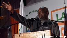 Burkina Faso Präsidentschaftswahl - Gewinner Roch Kaboré