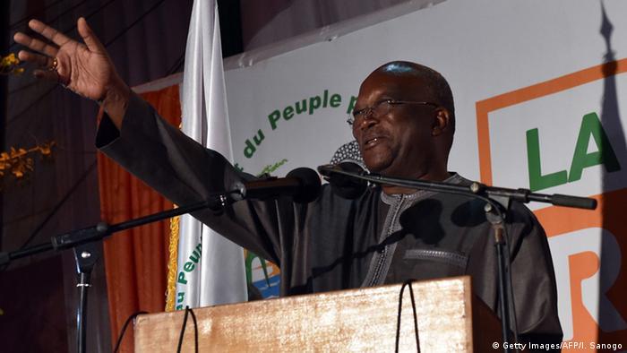 Portrait des neuen Präsidenten von Burkina Faso, Roch Marc Christian Kaboré