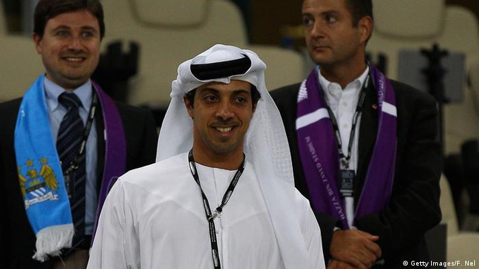 Fußball Manchester City Scheich Mansour Bin Zayed Al Nahyan (Getty Images/F. Nel)