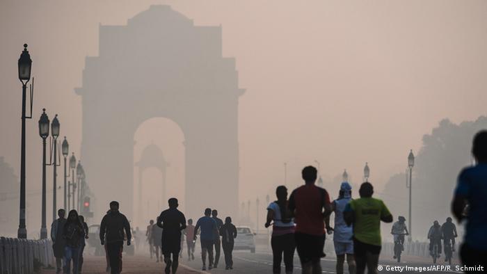 Indien Smog Symbolbild