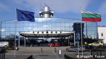 Аэропорт столицы Болгарии Софии